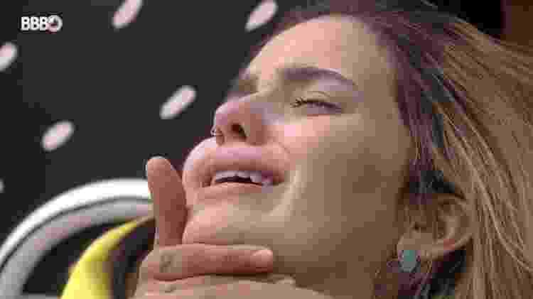 BBB 21: Viih Tube chora com medo de eliminação no 14º paredão - Reprodução/Globoplay - Reprodução/Globoplay