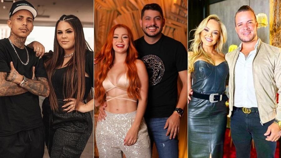 Power Couple: Mari e Matheus, Mirela e Yugnir e  Nina e Filipe estão na DR - Reprodução/Instagram