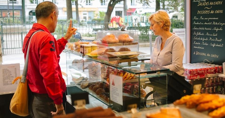 O Blé Sucré é uma confeitaria de Paris que vende deliciosos doces e croissants