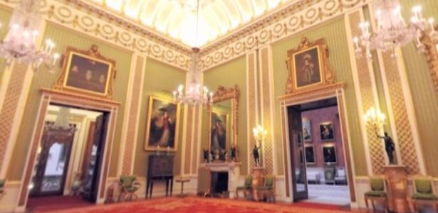Que tal conhecer a residência oficial da Família Real britânica sem sair de casa? - Reprodução/Youtube