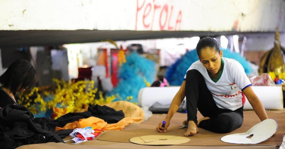 A agremiação da Vila Madalena é a primeira a entrar na avenida na sexta-feira (05)