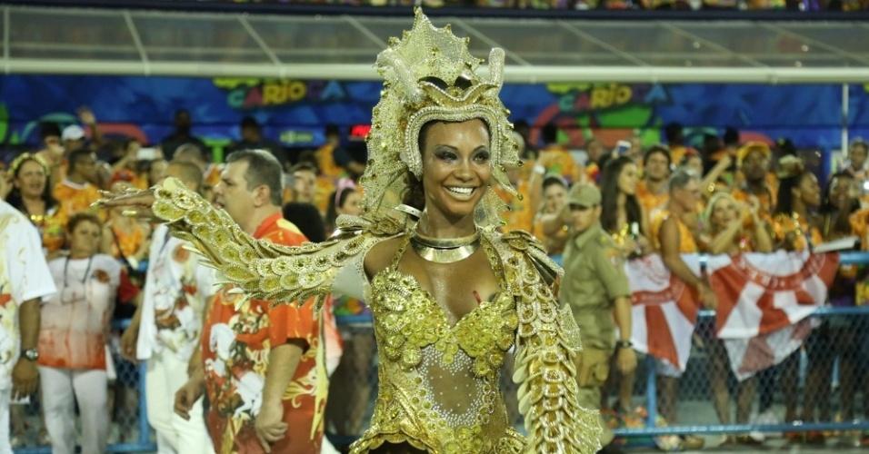 Luana Bandeira, rainha da Estácio de Sá