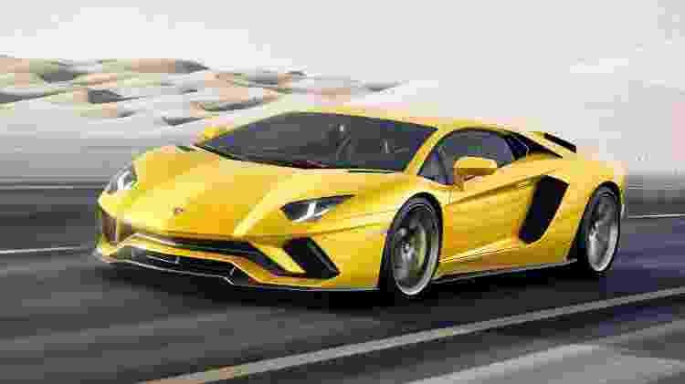 Lamborghini Aventador era outra prova da adoração de Bryant por carrões italianos - Divulgação