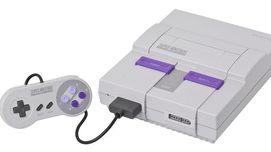 O Super Nintendo foi um dos principais consoles da década de 90! - Reprodução