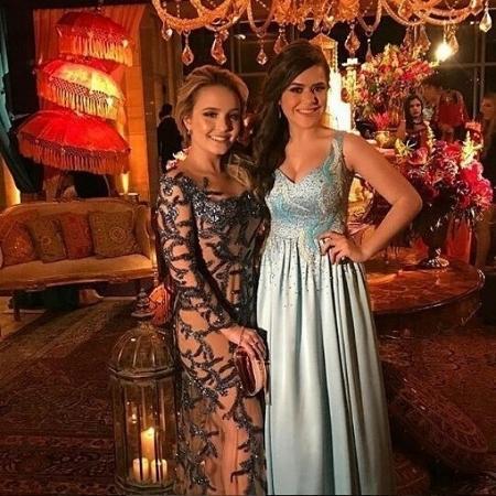 Larissa Manoela e Maisa Silva - Reprodução/Instagram/@reinodalarissa