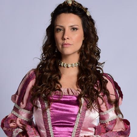 "Camila Rodrigues, no ar em ""Belaventura"", estaria em ""Topíssima"" - Blad Meneghel/ Record TV"