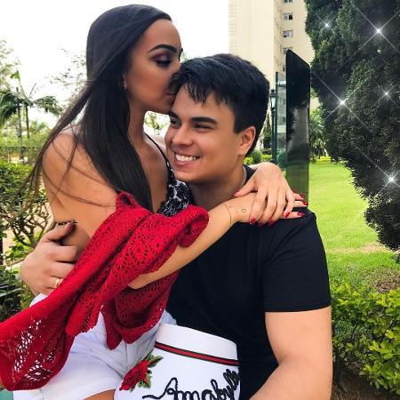 Igor Camargo e a noiva, Amabylle Eiroa - Reprodução/Instagram