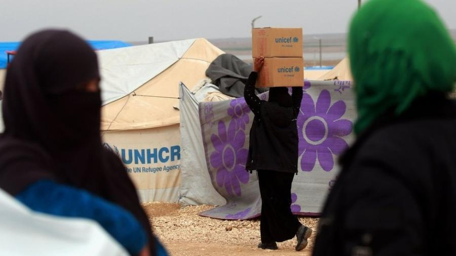 Milhões de sírios foram deslocados de suas casas e precisam de ajuda humanitária para sobreviver - Getty Images