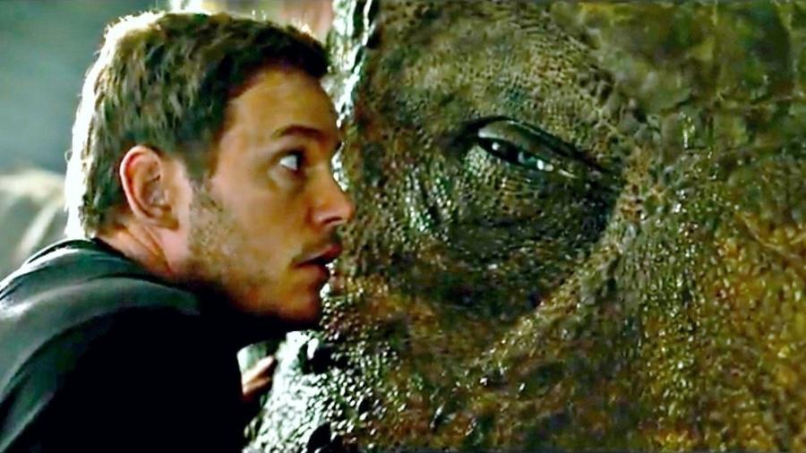 """Chris Pratt tem problemas em """"Jurassic World: Reino Ameaçado"""" - Reprodução"""