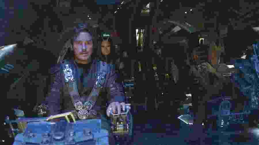 """Chris Pratt em """"Vingadores: Guerra Infinita"""" - Divulgação/Marvel"""