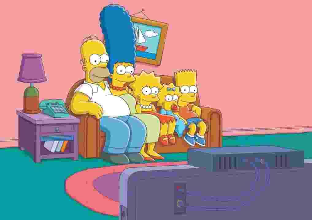 """Cena clássica da abertura de """"Os Simpsons"""" - Divulgação"""