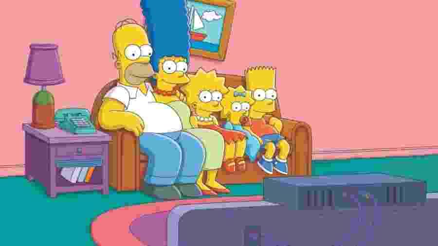 A personagem Marge Simpson foi comparada a Kamala Harris, vice de Biden, e rebatou ofensas da advogada de Trump - Divulgação