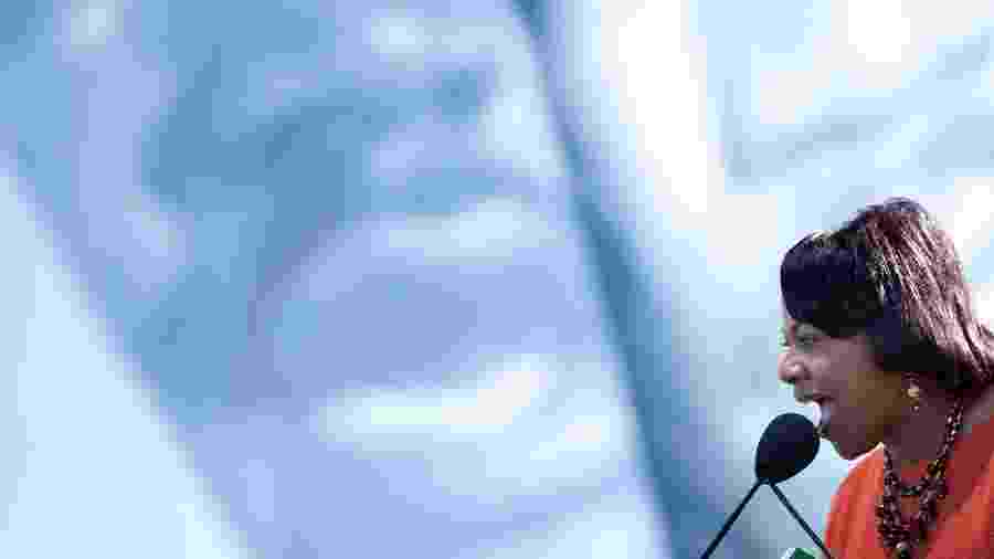 A ativista Bernice King, filha de Martin Luther King - Getty Images