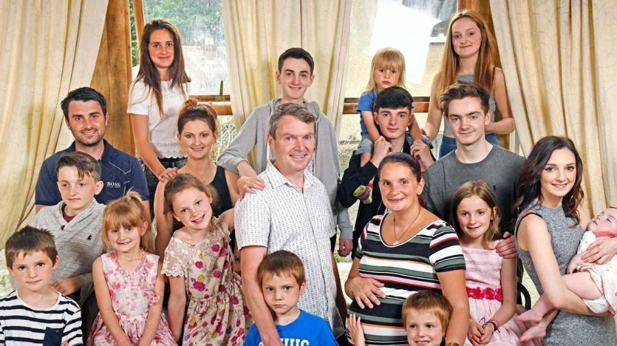 A família Radford - Reprodução/Instagram/@theradfordfamily