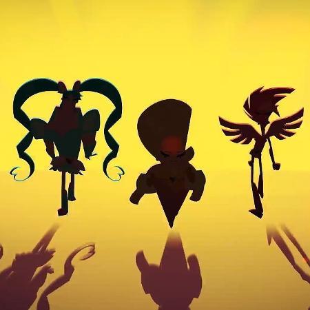 """As três protagonistas de """"Super Drags"""", primeira série animada brasileira da Netflix - Reprodução"""