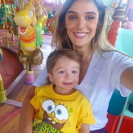 Rafa Brites e o filho, Rocco - Instagram
