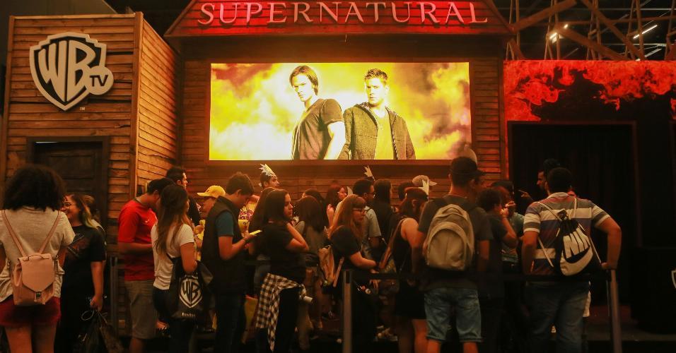 Warner preparou atividades para agradar aos fãs  das suas produções