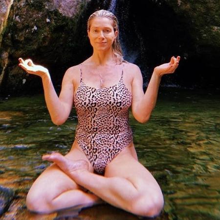 Letícia Spiler curte cachoeira - Reprodução/Instagram