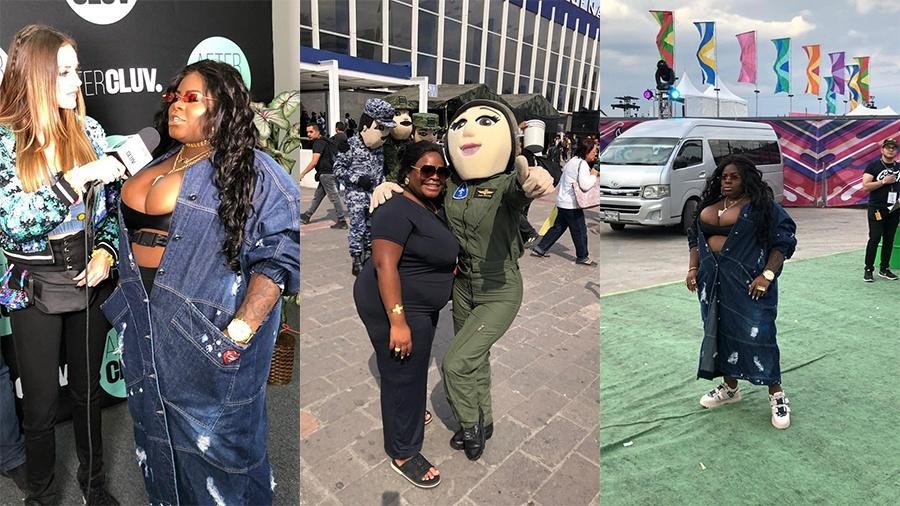 """Após show na Cidade do México, Jojo Todynho aproveitar para """"turistar"""" - Divulgação"""
