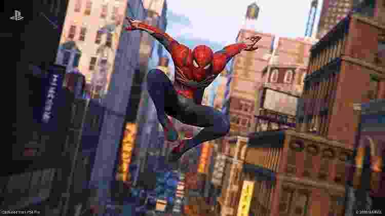 Spider-Man PS4 - Reprodução - Reprodução