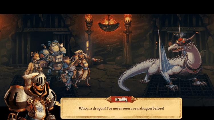 SteamWorld Quest - Steampunk - Divulgação - Divulgação