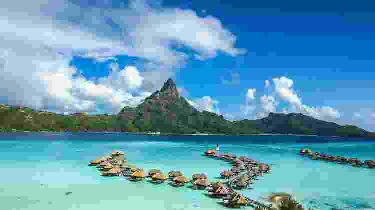 Vista do Hotel Interncontinental Bora Bora Resort & Thalasso Spa  - Divulgação - Divulgação