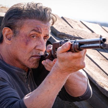 Sylvester Stallone em cena de Rambo: Até o Fim (2019) - Yana Blajeva/Divulgação