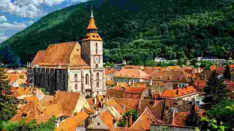 Brasov, cidade na Romênia  - iStock - iStock