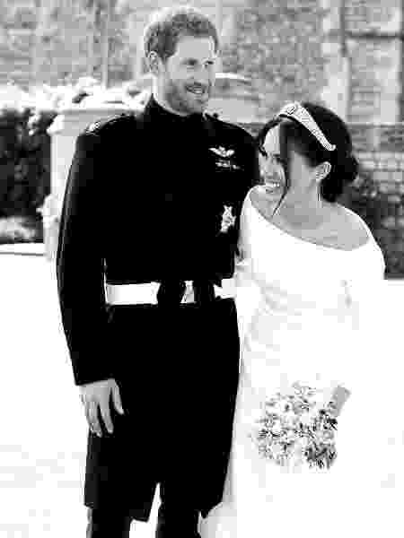 Foto inédita do casamento do príncipe Harry e Meghan Markle - Photo © PA / Chris Allerton © SussexRoyal