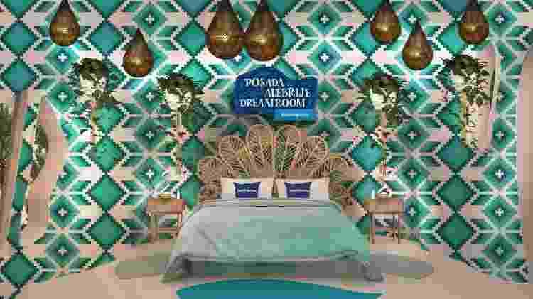 Ambiente da Posada Alebrije Dreamroom - Divulgação