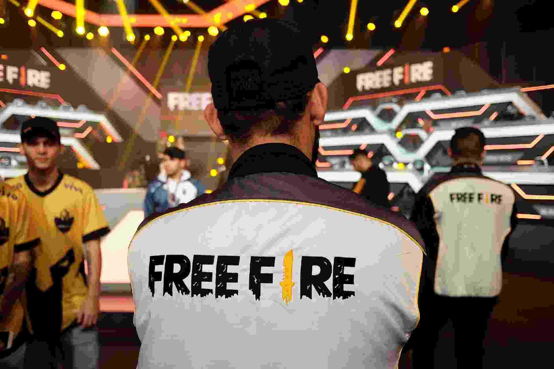 Estúdio Free Fire Garena - Renato Bueno/UOL
