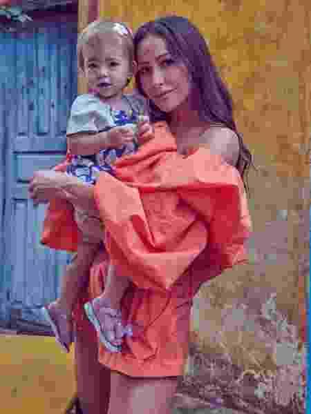 Sabrina Sato e a filha Zoe - REPRODUÇÃO/INSTAGRAM