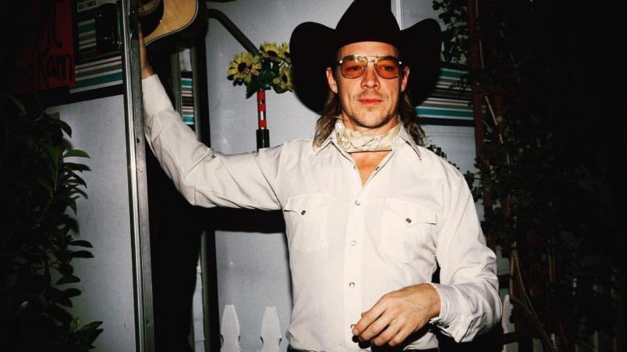 """Diplo é uma das personalidades internacionais que aderiram ao """"estilo cowboy desconstruído"""" - Reprodução/Instagram"""