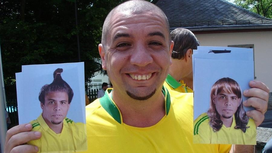 """Bussunda, do """"Casseta & Planeta"""", costumava imitar Ronaldo - Reprodução"""
