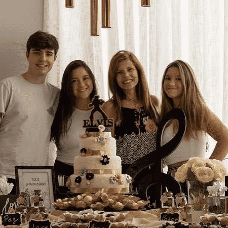 Filhos de Gugu comemoram aniversário da mãe - Reprodução/Instagram