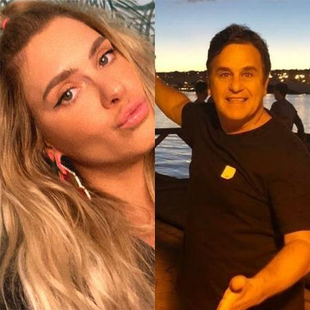 Carolina Dieckmann parabeniza o ex-marido, Marcos Frota - Reprodução / Instagram