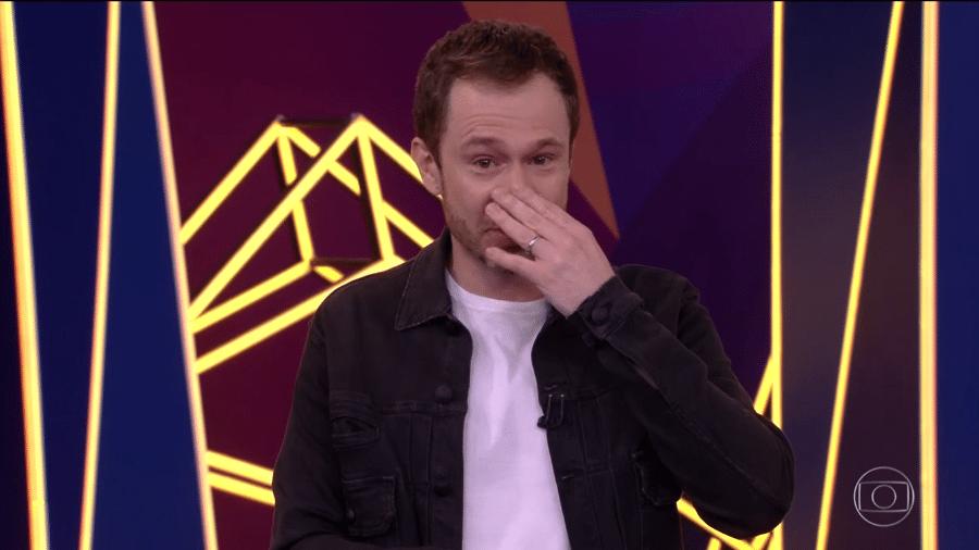 Tiago Leifert chora no BBB 21 - Reprodução/TV Globo