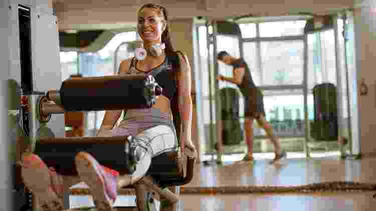 cadeira extensora, exercício - iStock - iStock