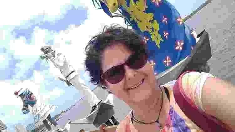Marcia Reis em Aracaju, Sergipe - Arquivo pessoal - Arquivo pessoal