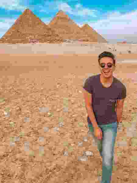 Lucas da Silva Ramos no Egito - Arquivo pessoal - Arquivo pessoal