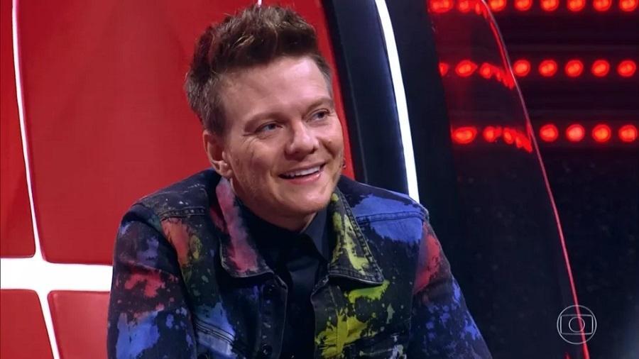 The Voice Kids: Michel Teló se emociona durante apresentação - Reprodução/TV Globo