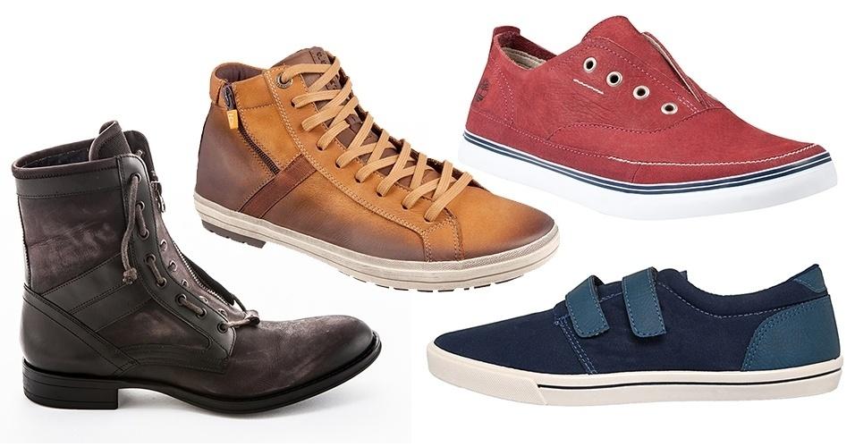 922b29bac44ad Moda prática: veja sapatos para homens que têm preguiça de amarrar tênis