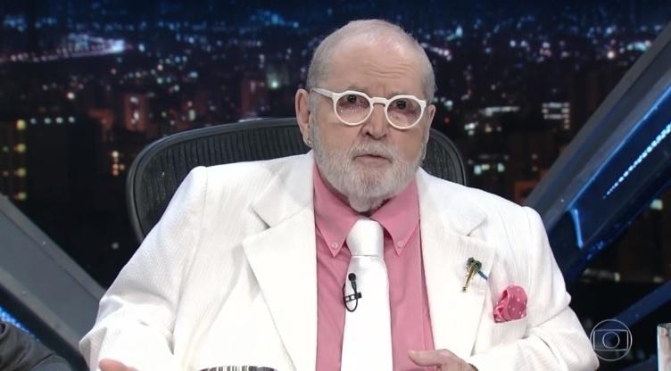 Jô Soares revela em seu programa que passou por uma cirurgia cardíaca