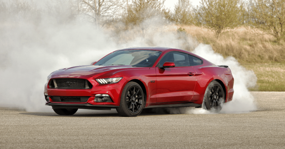 Ford Mustang GT Black Accent 2016