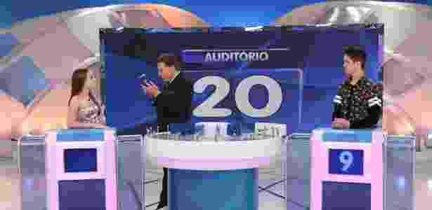 Silvio Santos se surpreende com a quantidade de casamentos do cantor Leonardo - Reprodução/SBT