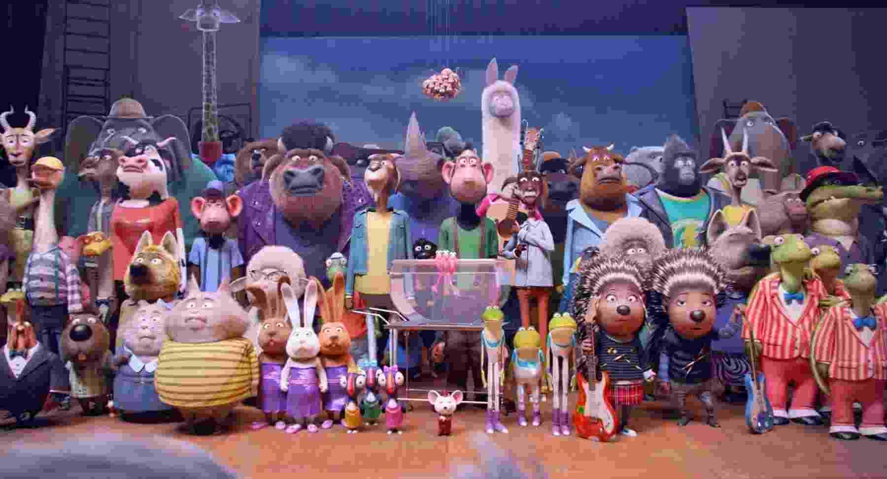 """""""The Voice"""" animal? Na animação """"Sing - Quem Canta Seus Males Espanta"""" bichos vão cantar para concorrer a US$ 100 mil - Divulgação"""