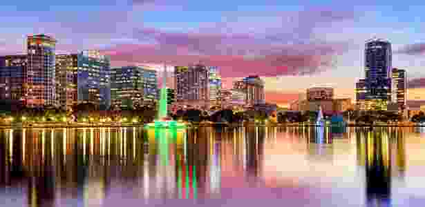 Lake Eola, em Orlando - Getty Images - Getty Images
