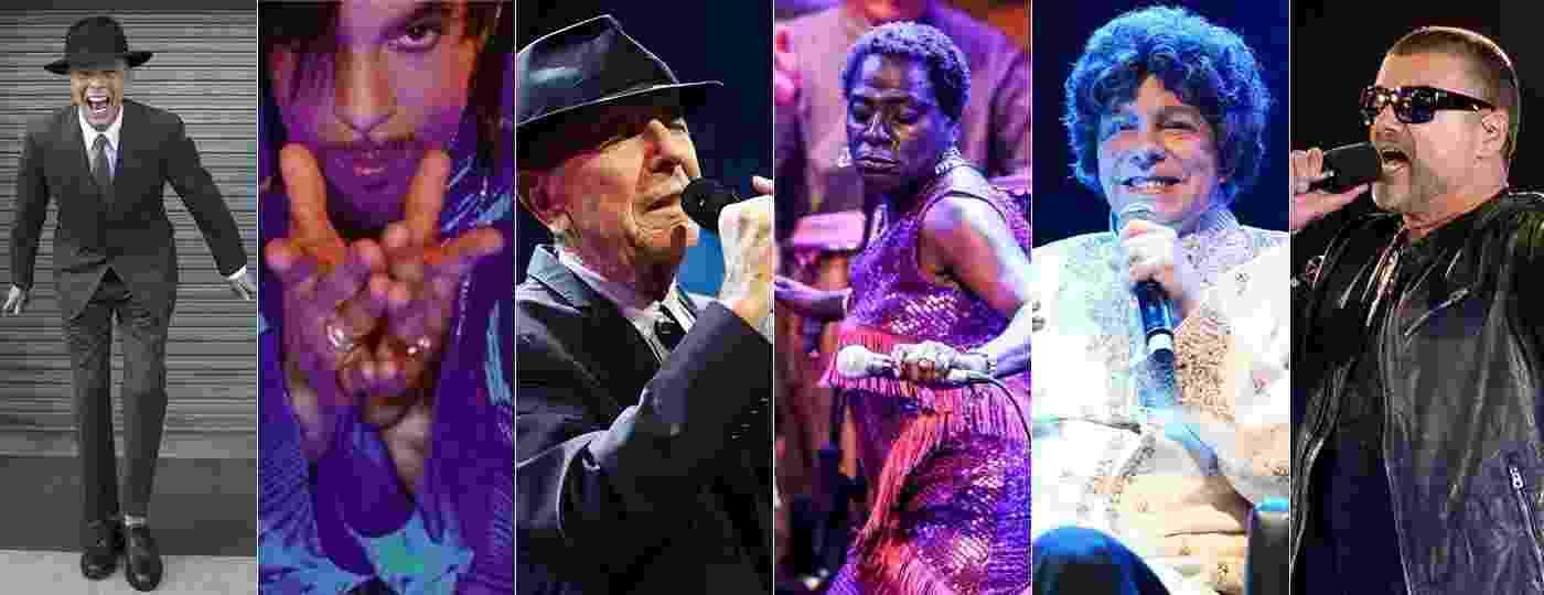 David Bowie, Prince, Leonard Cohen, Sharon Jones, Cauby Peixoto e George Michael: mortes da música em 2016 - UOL