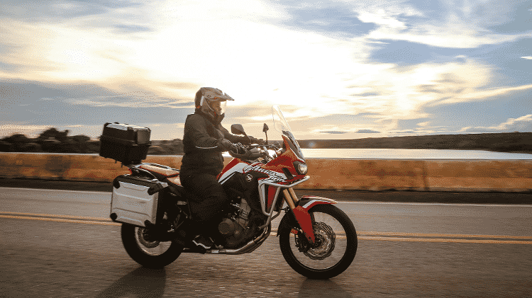Honda Africa Twin Travel Edition - Renato Durães/Divulgação - Renato Durães/Divulgação