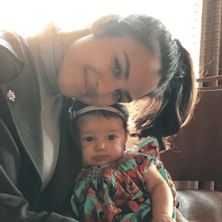 Yanna Lavigne e a filha, Madalena - Reprodução/Instagram/yannalavigne
